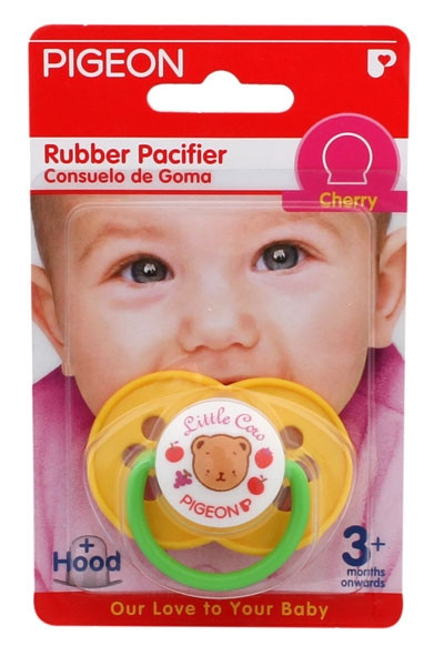Pigeon Rubber Pacifier -N853(CHERRY)