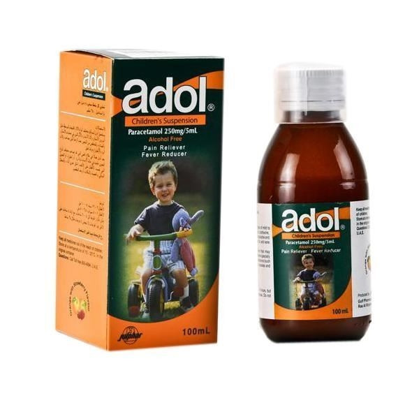 ADOL 250MG SUSPENSION 100 ML