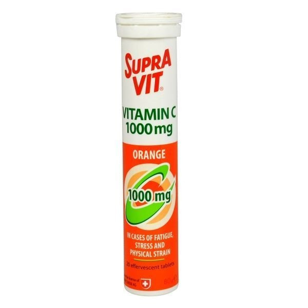 SUPRAVIT VIT C 1000 20EFF-ORANGE