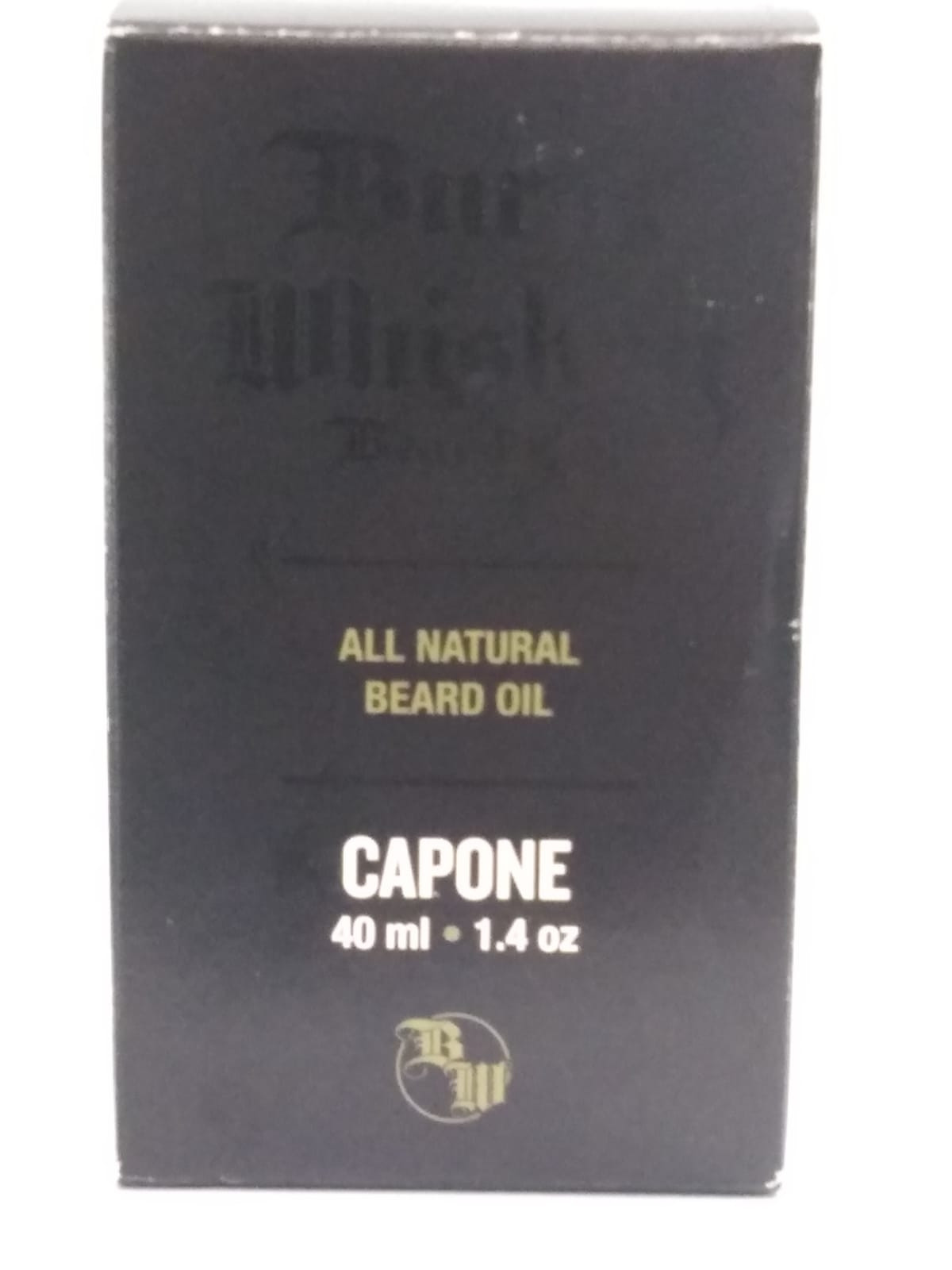 BEARD AND COMPANY OIL BURNT WHISKEY 40ML (CAPONE - SIGNATURE)