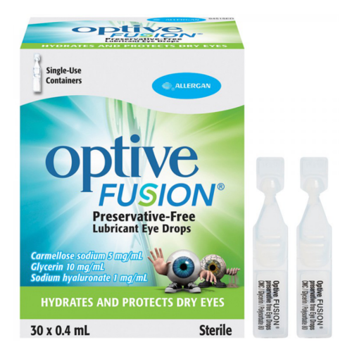 OPTIVE FUSION UD SOLUTION 30X0.4ML