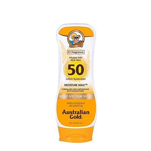 AUSTRALIAN GOLD SPF50 MOISTURE MAX LOTION 227ML