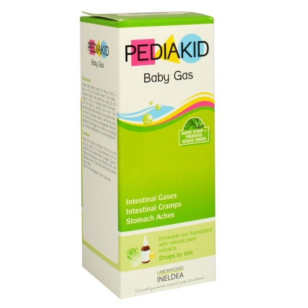 PEDIAKID BABY GAS DROP 60ML