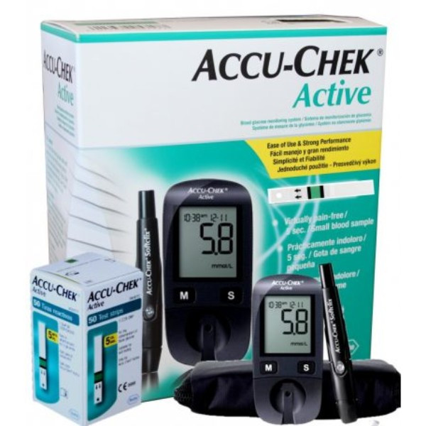 ACCU-CHEK ACTIVE MMOL+50 STRIPS -OFFER