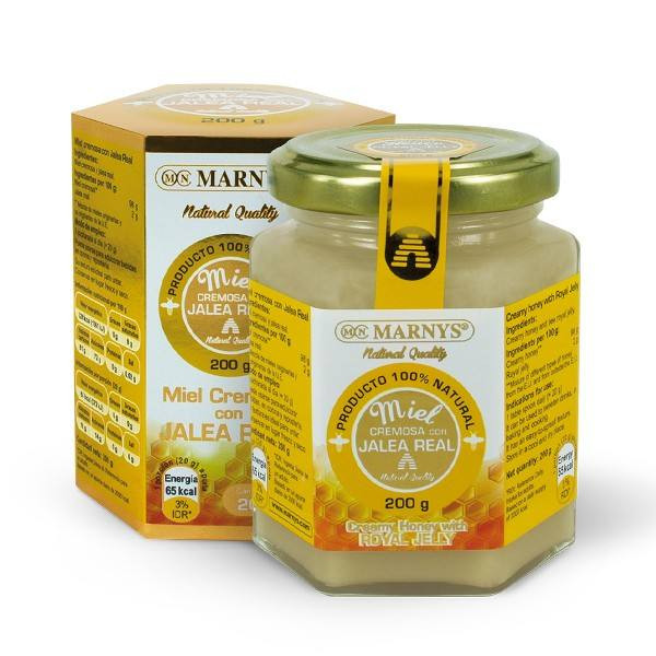 Marnys Creamy Honey With Royal jelly