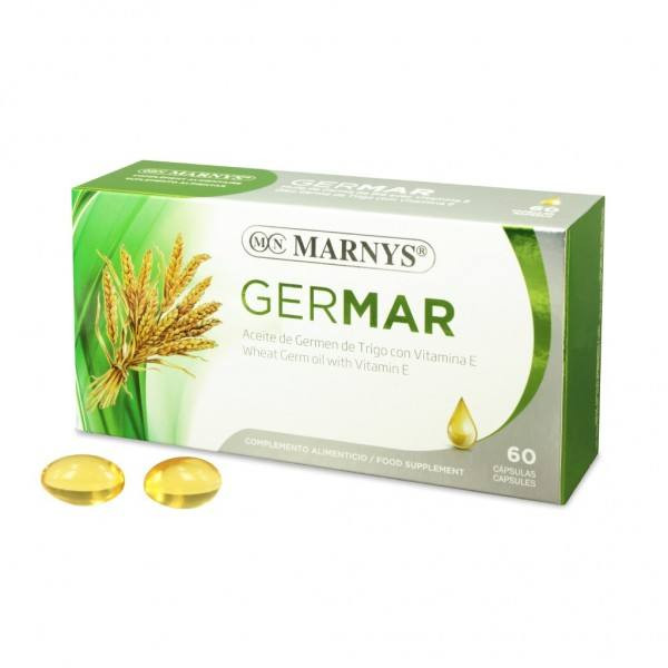 Marnys Germar Wheat Germ Oil Capsules