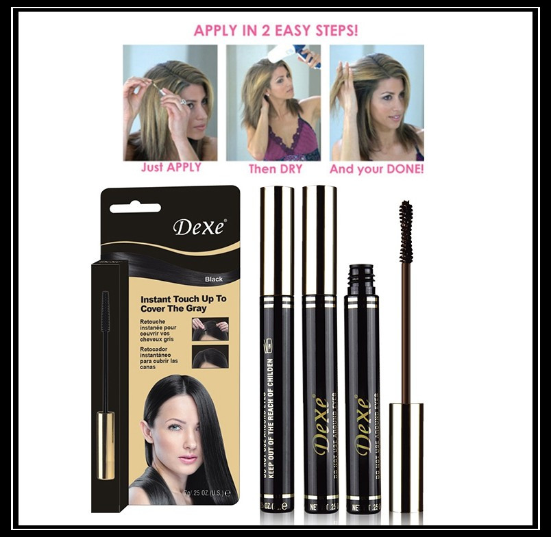 Dexe Root Cover The Gray Mascara .