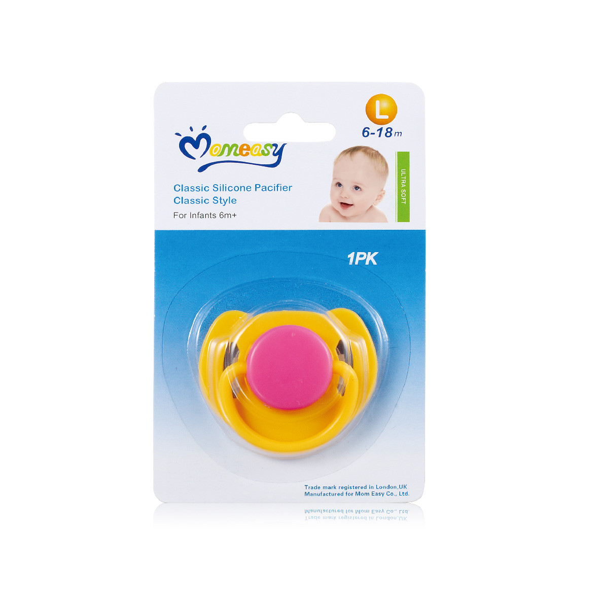 Momeasy Classic Silicon Pacifier Classic Style (48310) .