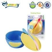MOMEASY WEANING BOWL WITH HEAT SENSING SPOON (43901)