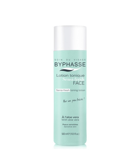 BYPHASSE Sensi-fresh toning lotion with aloe Vera