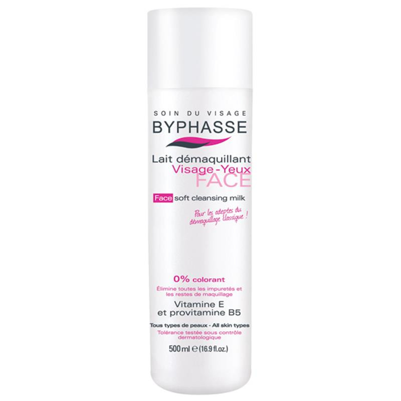 BYPHASSE Soft cleansing milk face & eyes