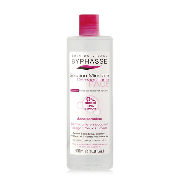 BYPHASSE Micellar make-up remover solution