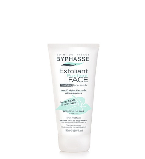 BYPHASSE Home spa experience purifying face scrub