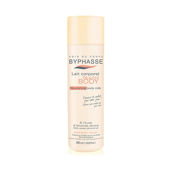 BYPHASSE Body Milk Nourishing  Almond Oil (BOTTLE)