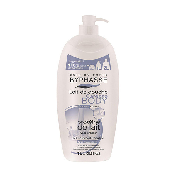 BYPHASSE Caresse shower cream milk protein (1L)
