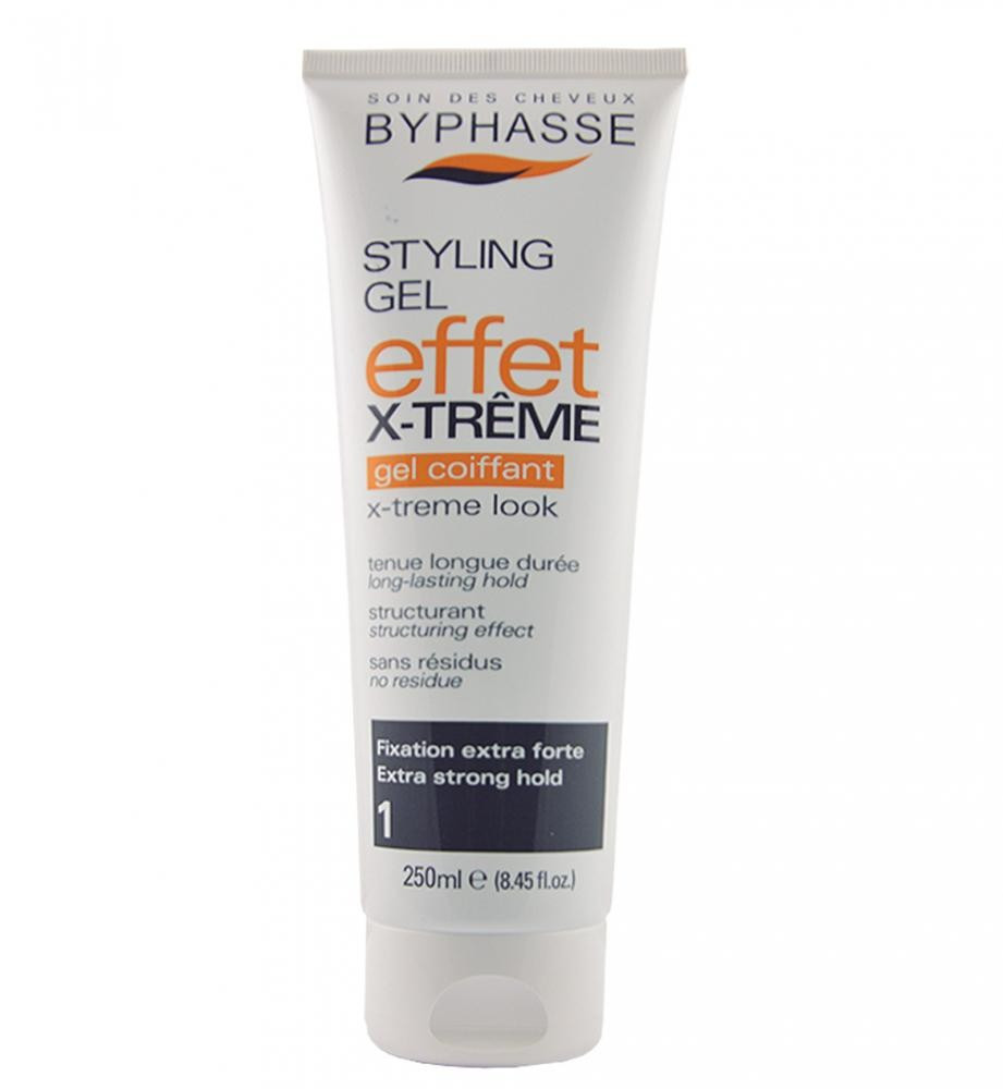 BYPHASSE Styling gel x-treme effect look extra strong hold