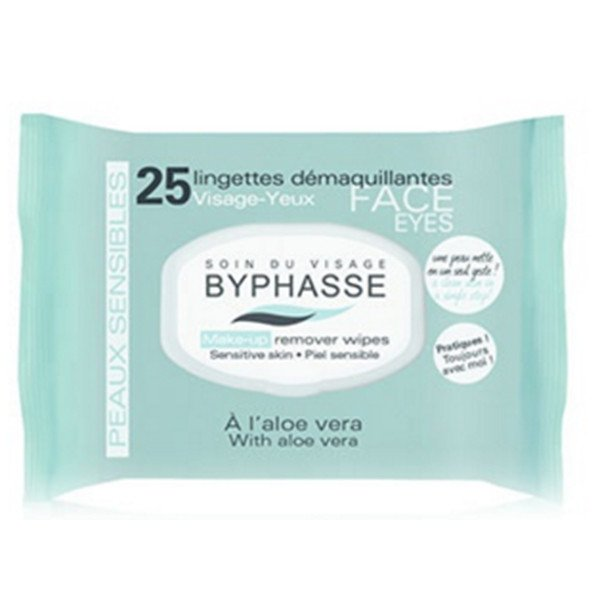 BYPHASSE Make-up remover wipes aloe Vera