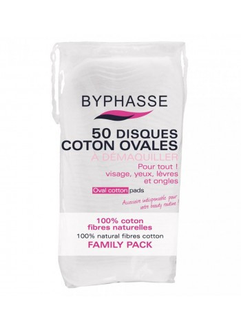 Byphasse Cotton pads ovales