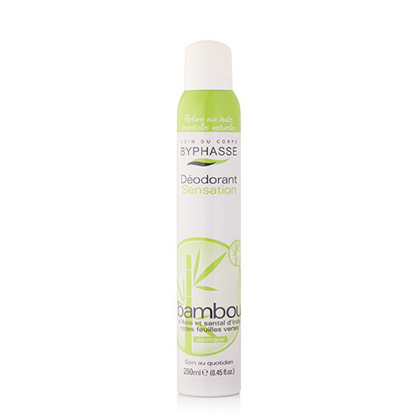 BYPHASSE Deodorant spray bamboo extract