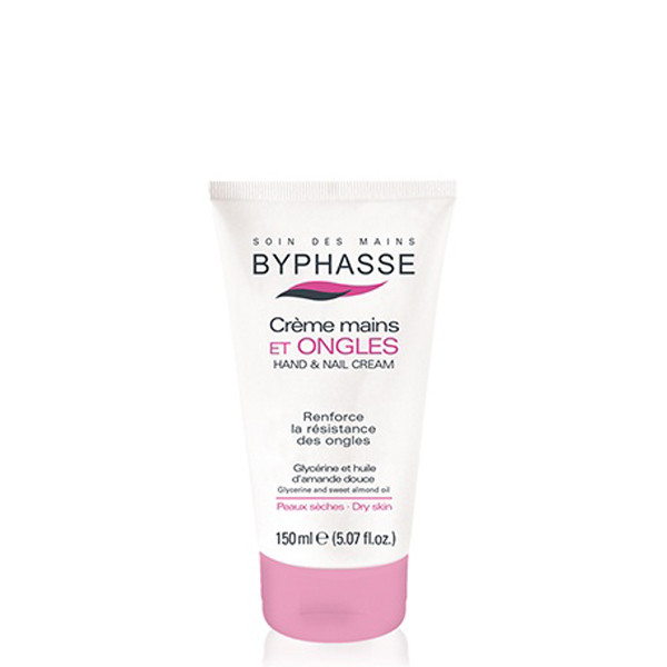 Byphasse Hand and nail cream .