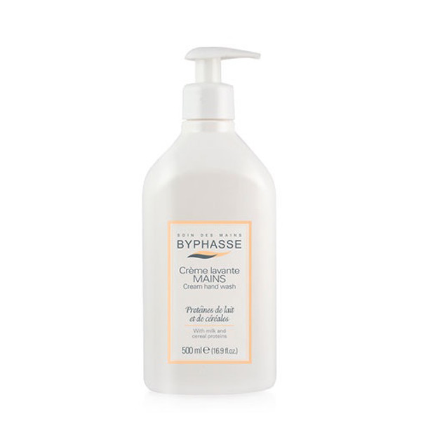 Byphasse Liquid cream hand wash milk and cereal proteins
