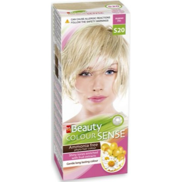 MM Beauty Color Sense Icy Blond (S20)