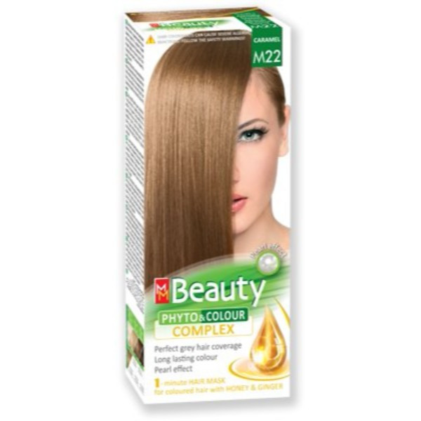 MM Beauty Permanent Hair Phyto Color Caramel (M22)
