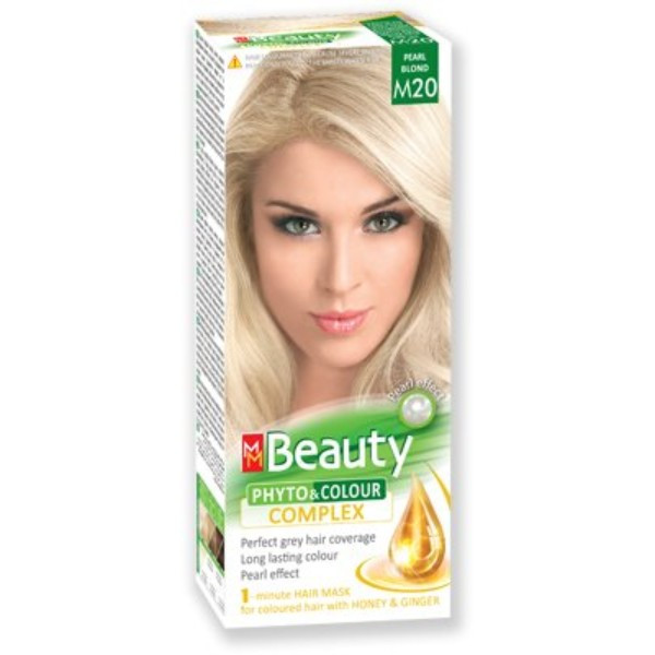 MM Beauty Permanent Hair Phyto Color Pearl Blond (M20)
