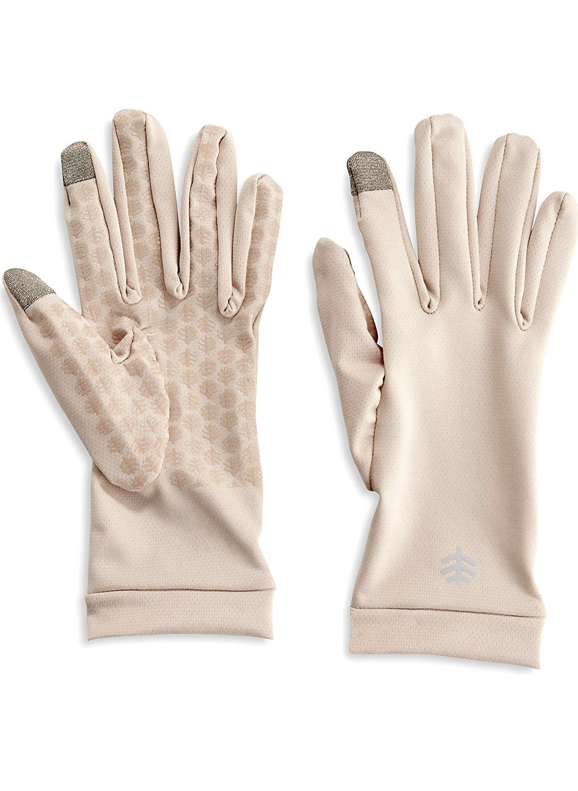 COOLIBAR UPF 50+ SUN BEIGE GLOVES - MEDIUM