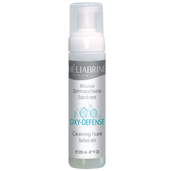 Heliabrine Oxy-Defense Cleansing Foam .