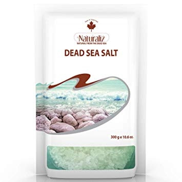 NATURALIZ DEAD SEA SALT (WHITE) 300G