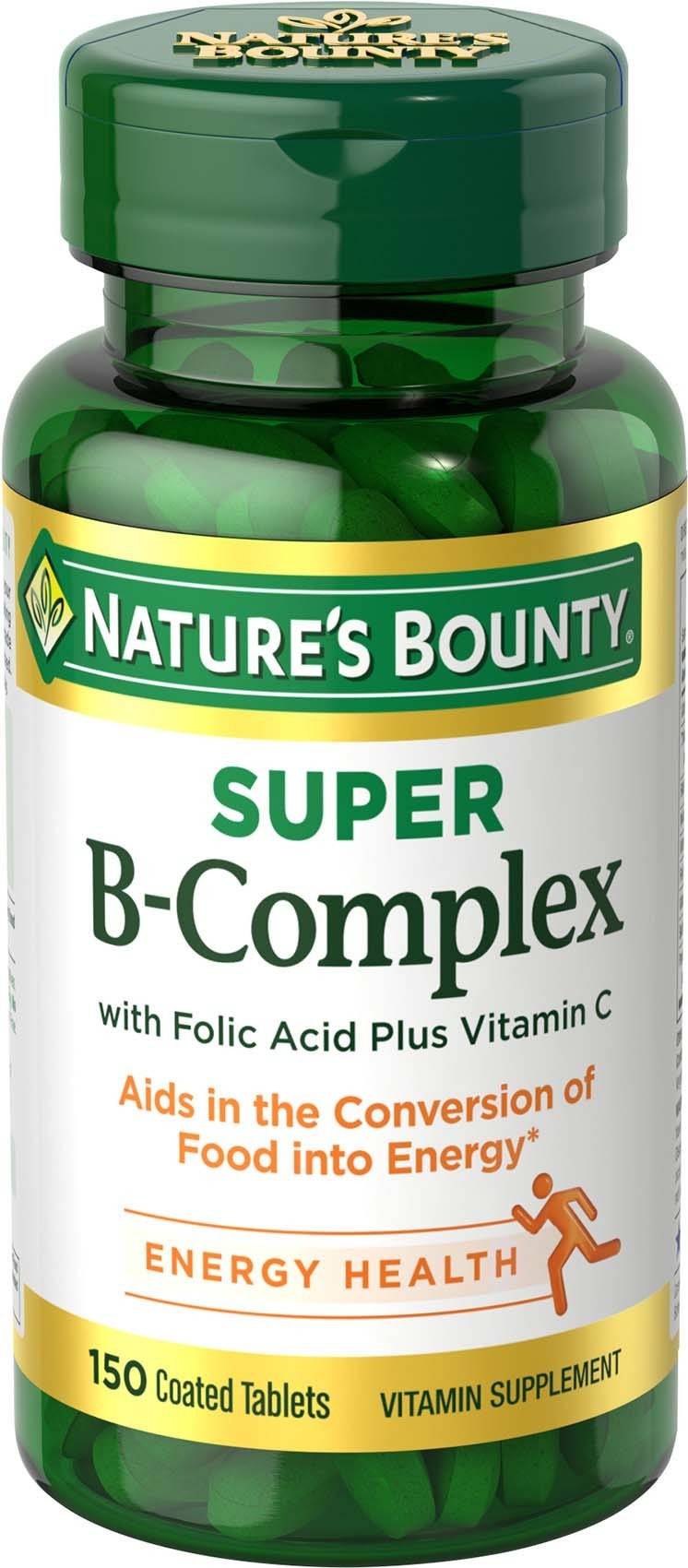 NATURE'S BOUNTY SUPER B-COMPLEX 150 TAB