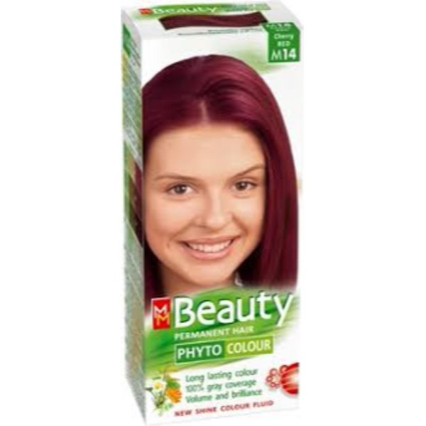 MM Beauty Permanent Hair Phyto Color Cherry Red (M14)