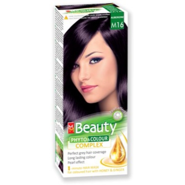 MM Beauty Permanent Hair Phyto Color Aubergine(M16)