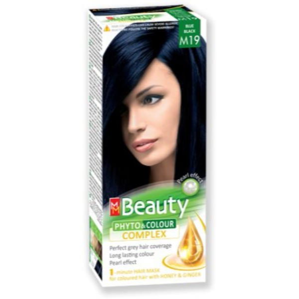 MM Beauty Permanent Hair Phyto Color Blue Black(M19 )