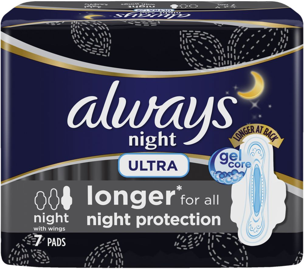ALWAYS ULTRA 7 NIGHT WINGS