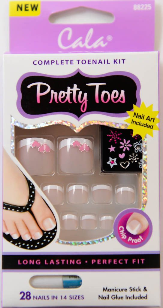 CALA PRETTY TOES CHIP PROOF 88225