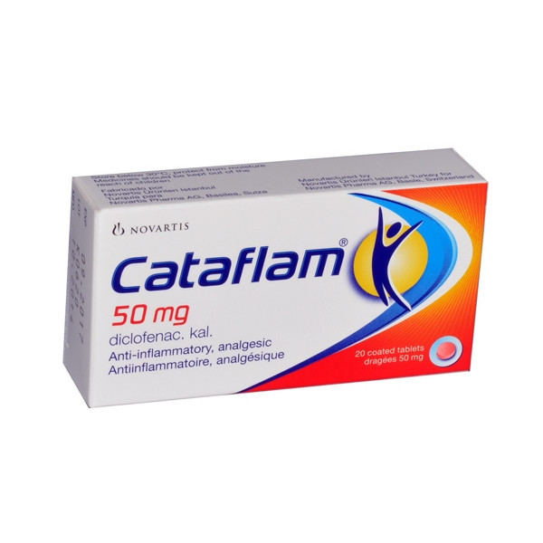 CATAFLAM 50MG 20 TAB