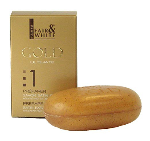 F&W FAIR AND WHITE GOLD ULTIMATE SOAP 200G