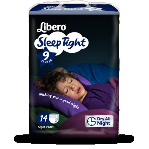 LIBERO SLEEP TIGHT-9 (35-60KG) 14PCS