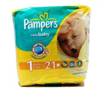 PAMPERS NEW BABY 1/21