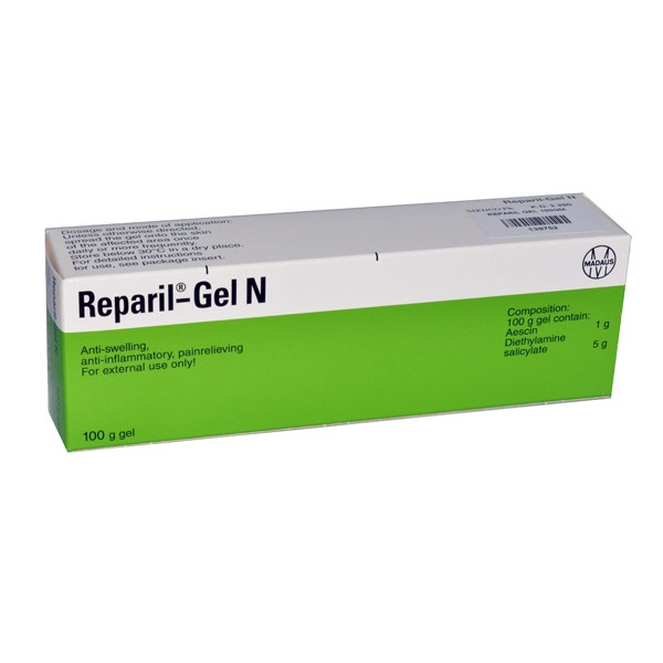 REPARIL GEL N. 100 GM