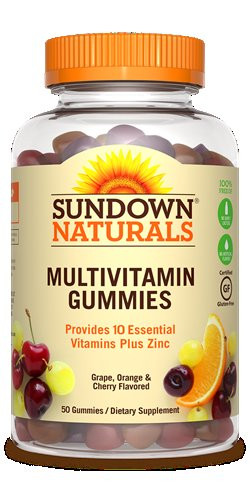 SUNDOWN ADULT MULTIVITAMIN GUMMIES 50PCS