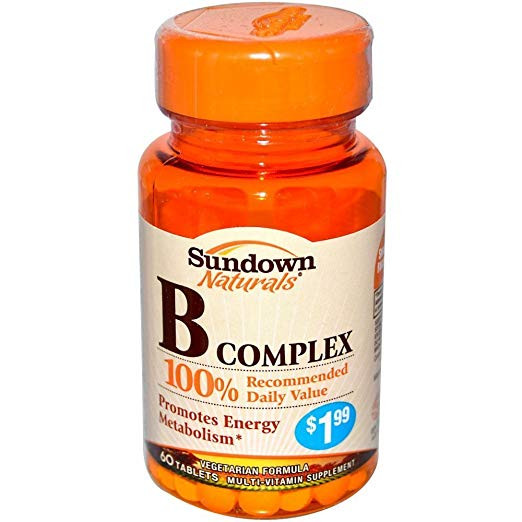 SUNDOWN B100 COMPLEX 60CAP
