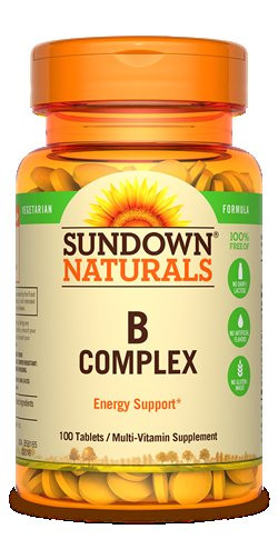SUNDOWN VITAMIN B COMPLEX 100 TAB