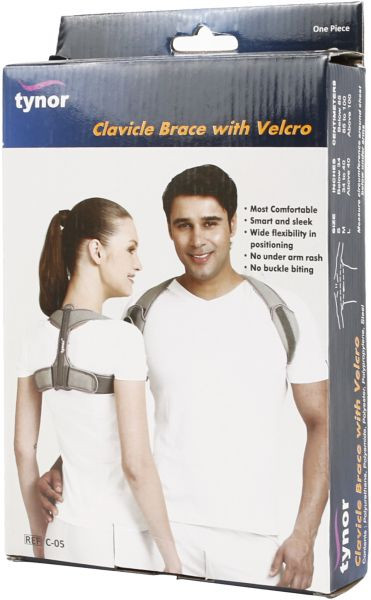 TYNOR CLAVICLE BRACE WITH VELCRO C-05 L