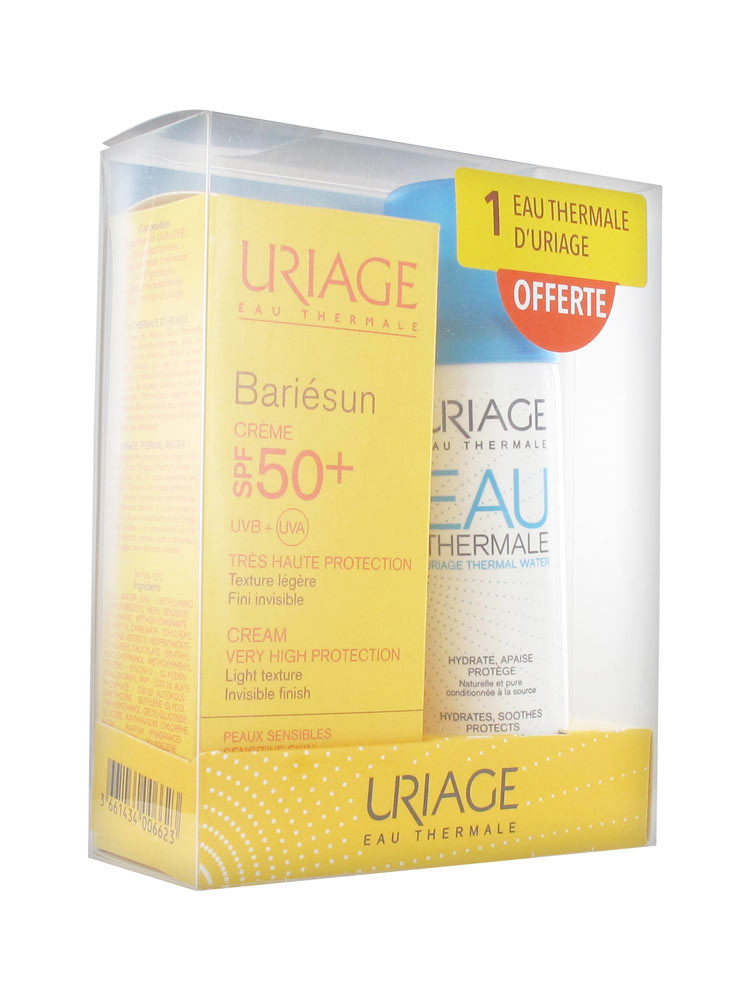 URIAGE BARIE SUN CREAM+THERMAL WATER(OFFER)