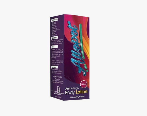 ALLOPOT BODY LOTION 120ML