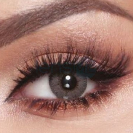 BELLA ELITE CONTACT LENSES AMBER GRAY