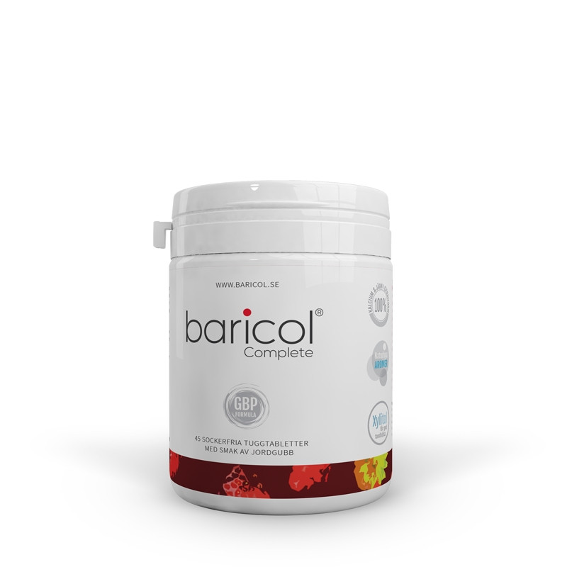 BARICOL COMPLETE STRAWBERRY CHEWABLE 45 TAB